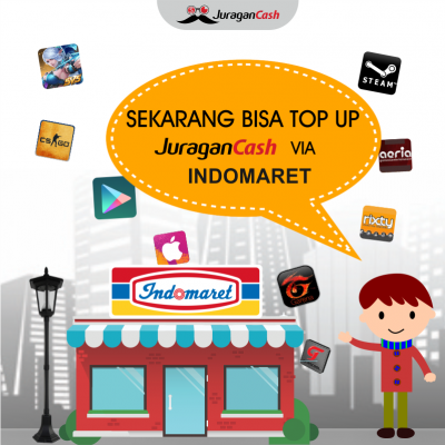 Blog Top Up Saldo JuraganCash di Indomaret Juragan Cash